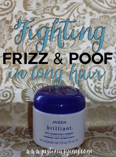 Fighting Frizz & Poof in Long Hair