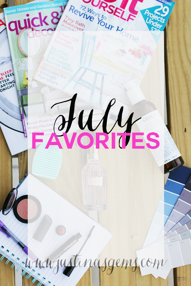 july favorites cover