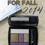 Lancome for Fall 2014- Olive Amour Palette