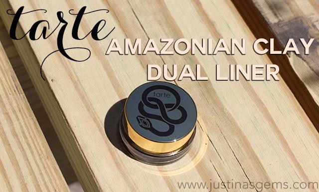 tarte amazonian clay dual liner