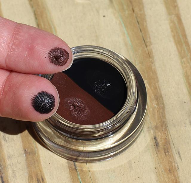 tarte clay eyeliner swatch