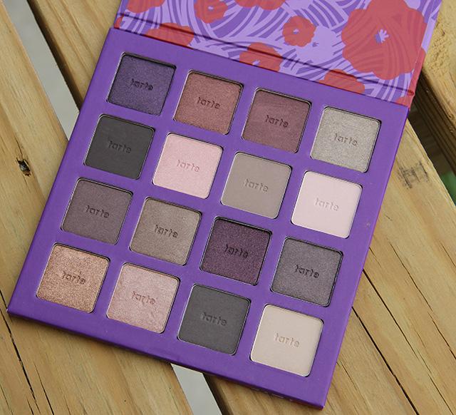 tarte limited edition amazonian clay eyeshadow palette v1