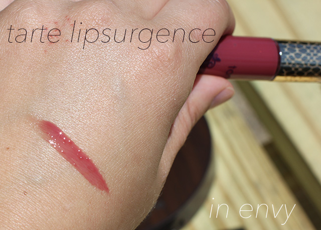 tarte lipsurgence envy