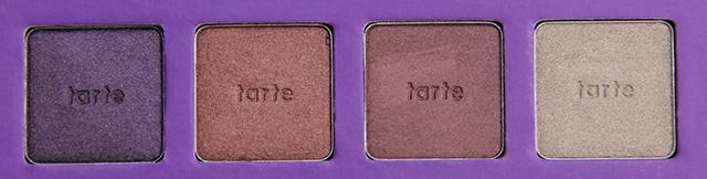 tarte swatches row 1