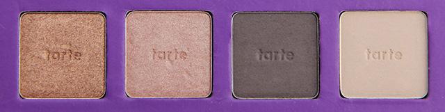 tarte swatches row 4