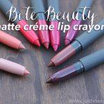 Bite Beauty Matte Créme Lip Crayons