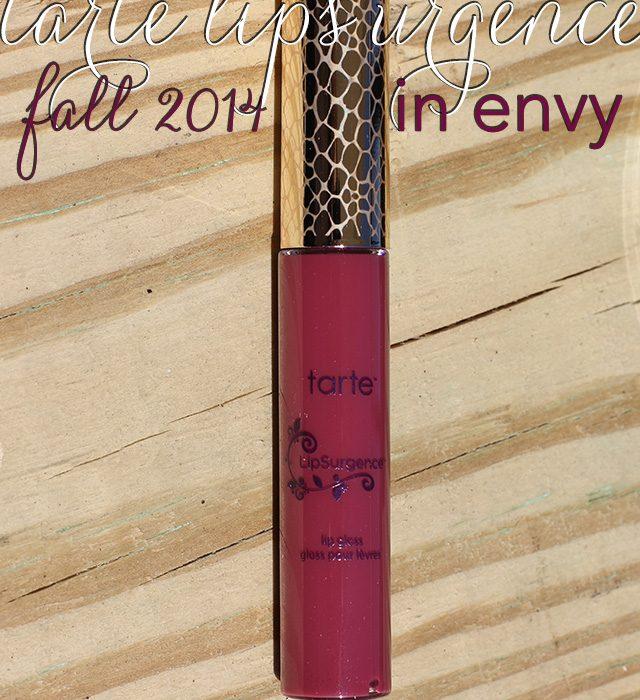 tarte Envy LipSurgence for Fall 2014