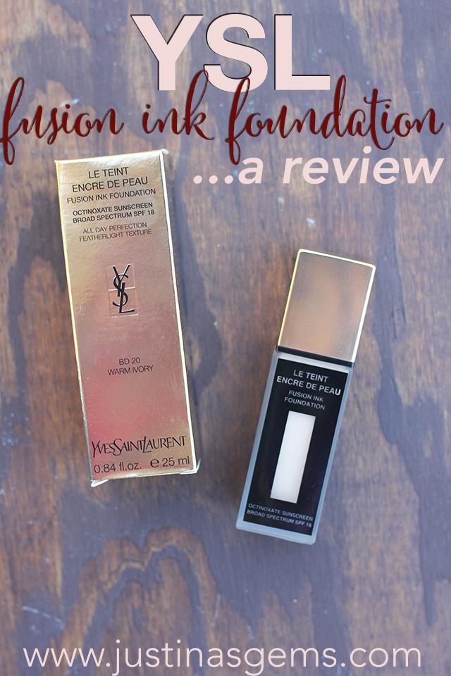 ysl fusion ink foundation