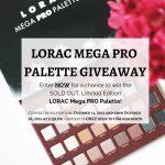 LORAC Pro Mega Palette Giveaway
