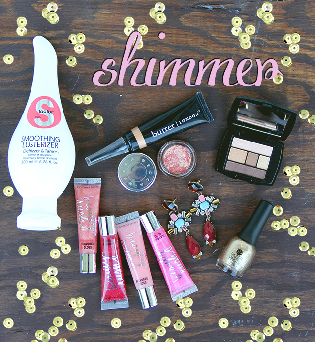 shimmering beauty products