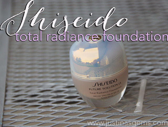 shiseido total radiance foundation cover