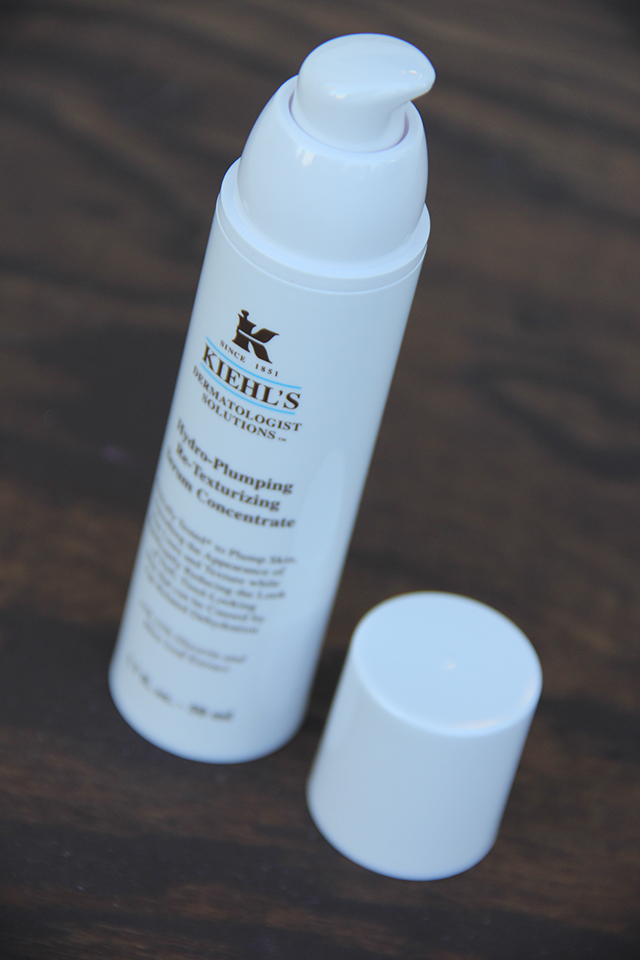 kiehl's hydro plumping re texturizing serum concentrate 2