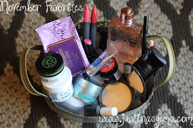november favorites in beauty