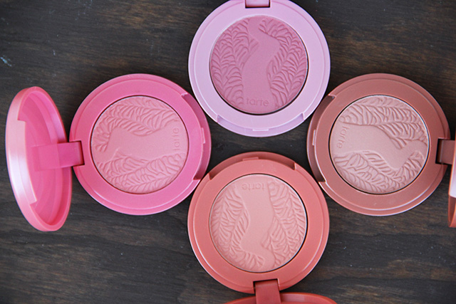 tarte limited edition amazonian clay blushes