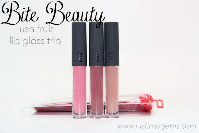 bite beauty lush fruit lip gloss trio