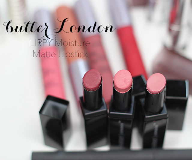 butter london lippy moisture matte lipstick