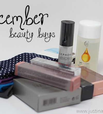 December 2014 Beauty Buys