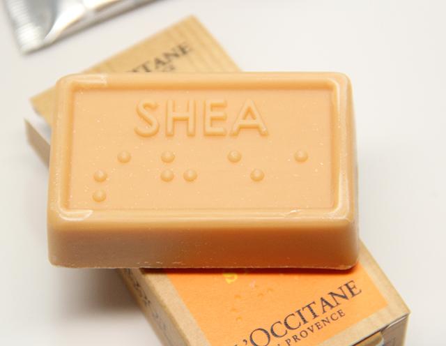 l'occitane shea charity soap