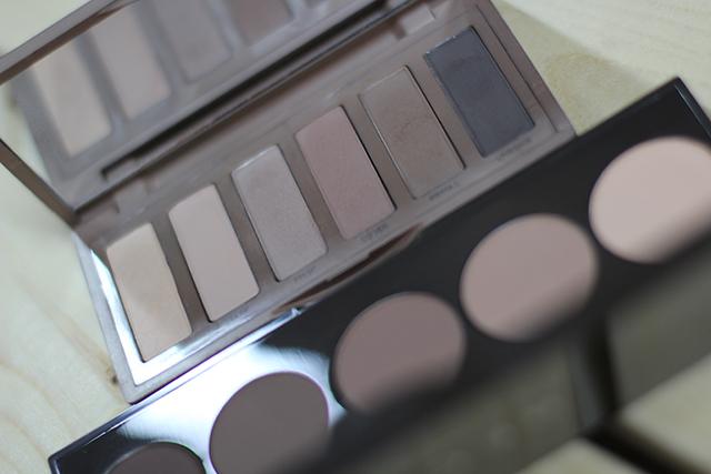 nude matte palettes