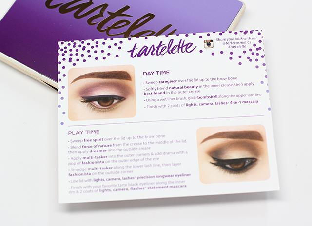 tartelette look card