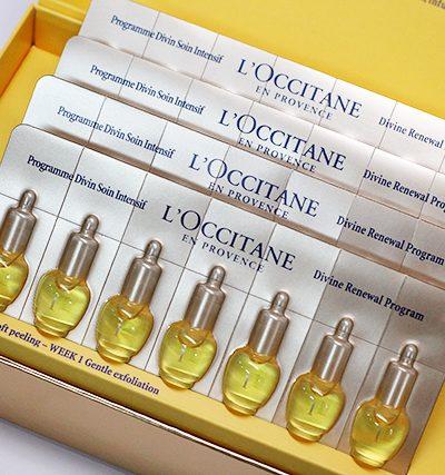 L'Occitane Imortelle 28 Day Divine Renewal Program & Giveaway
