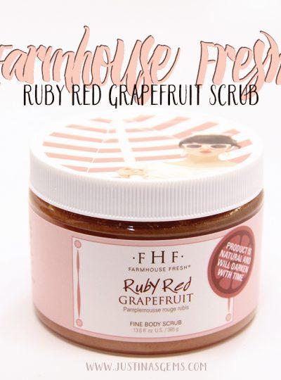 Farmhouse Fresh Ruby Red Grapefruit Scrub