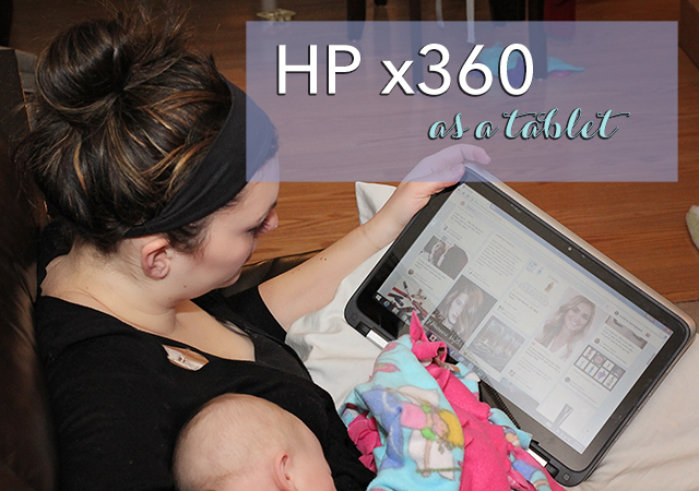 hp 360 as a tablet