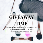 Make Up For Ever + Beauty Blender Giveaway Bundle