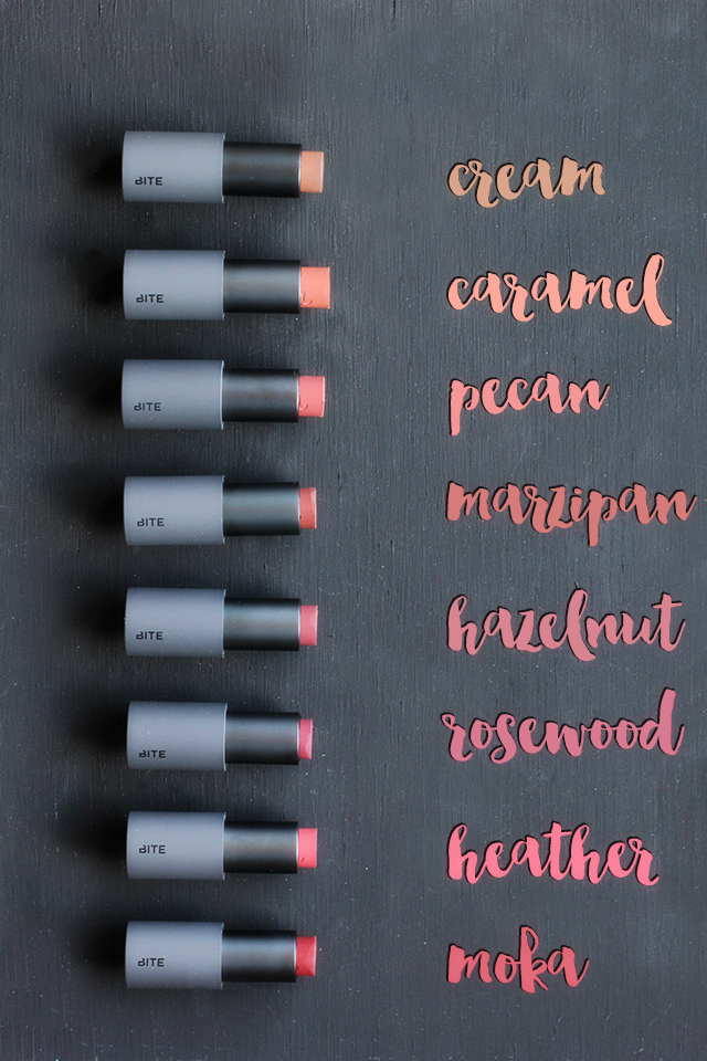 bite buttercream hand cut lipstick