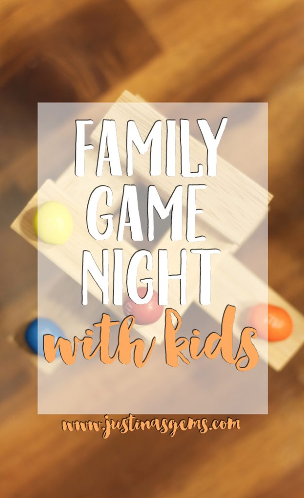 family game night with kids