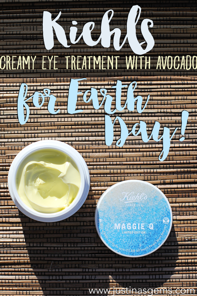 kiehl's creamy eye treatment with avocado for earth day