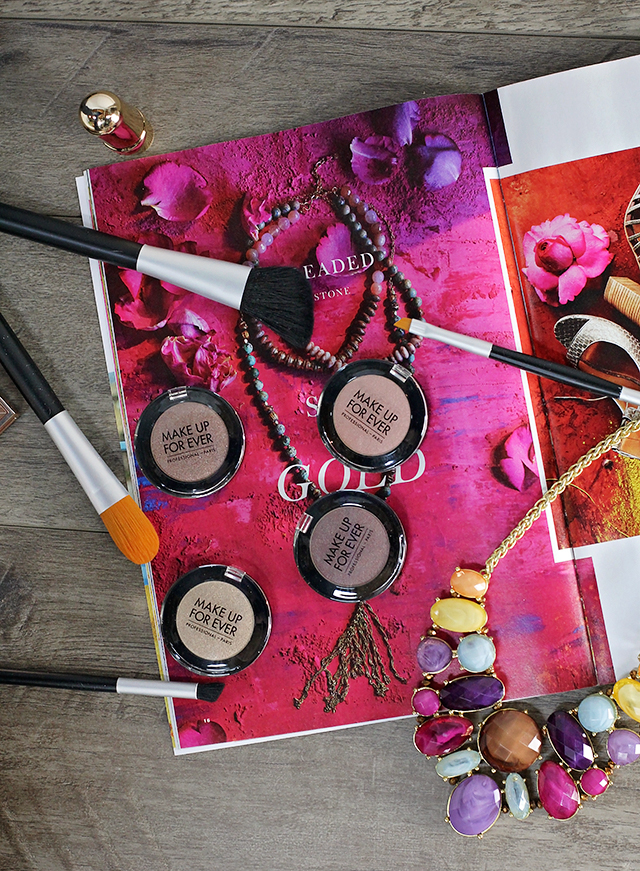 make up for ever eyeshadow singles