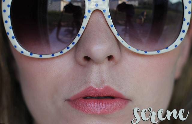 tarte lipsurgence serene