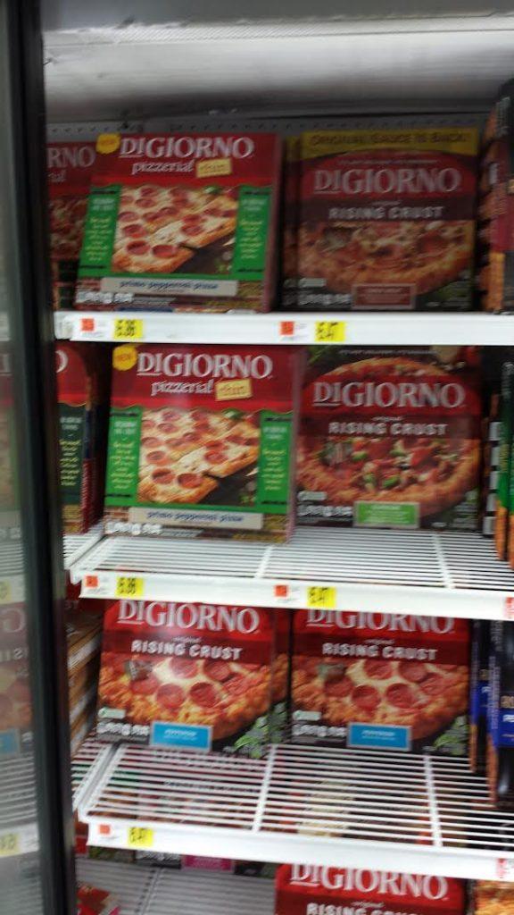 digiorno frozen pizza store pic