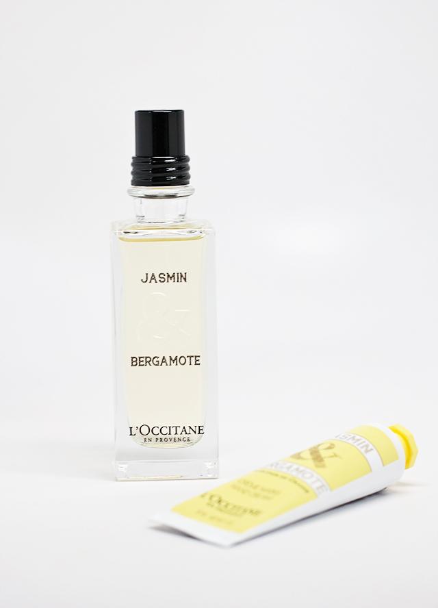 jasmine and bergamote