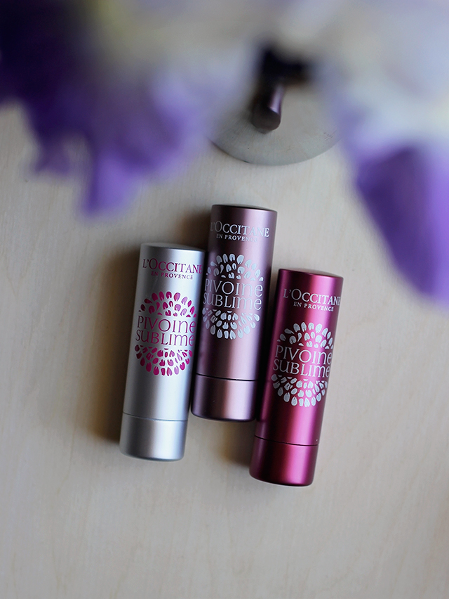 pivoine sublime lip balms