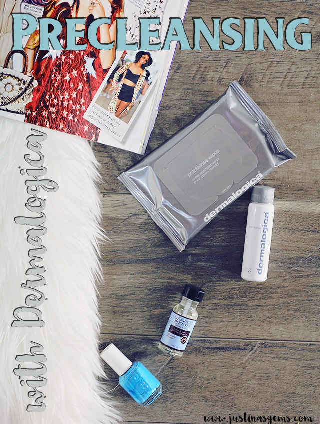 precleansing with dermalogica