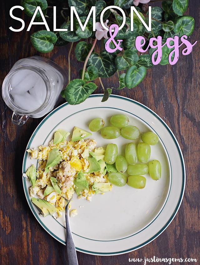 salmon and eggs recipe