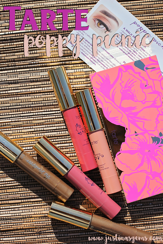 tarte poppy picnic collection