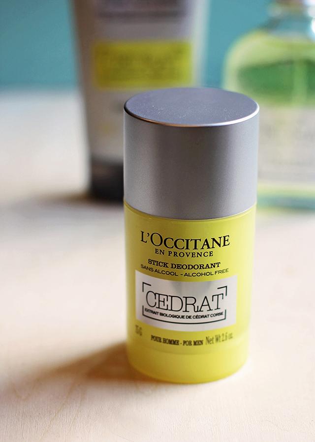 cedrat l'occitane deodorant