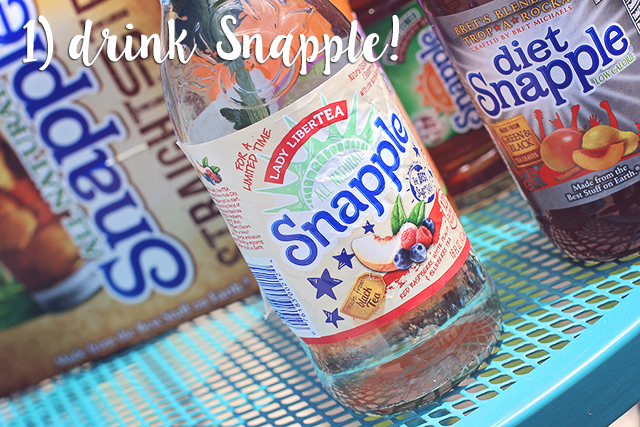 drink snapple