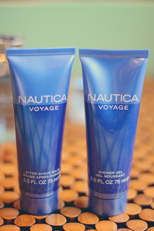 nautica voyage gift set after shave