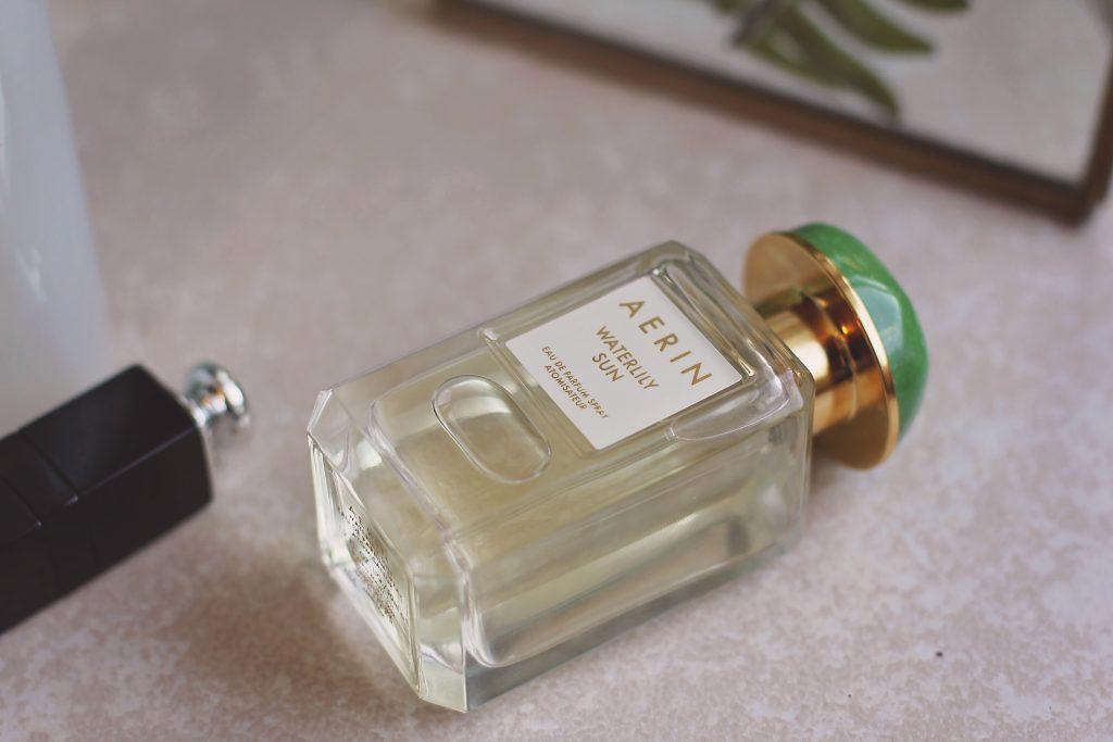 aerin waterlily sun perfume bottle