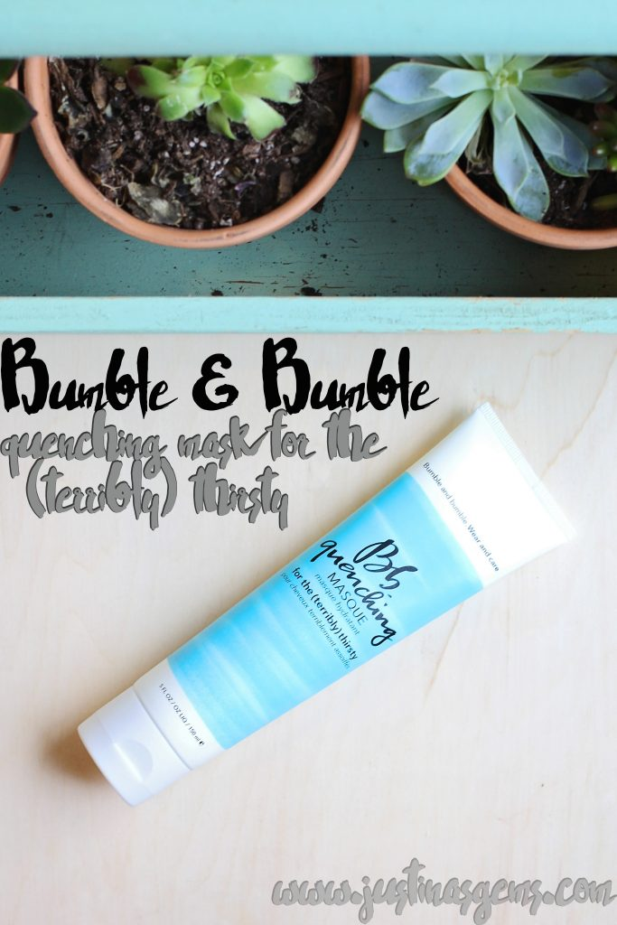 bumble and bumble quenching mask for the terribly thirsty
