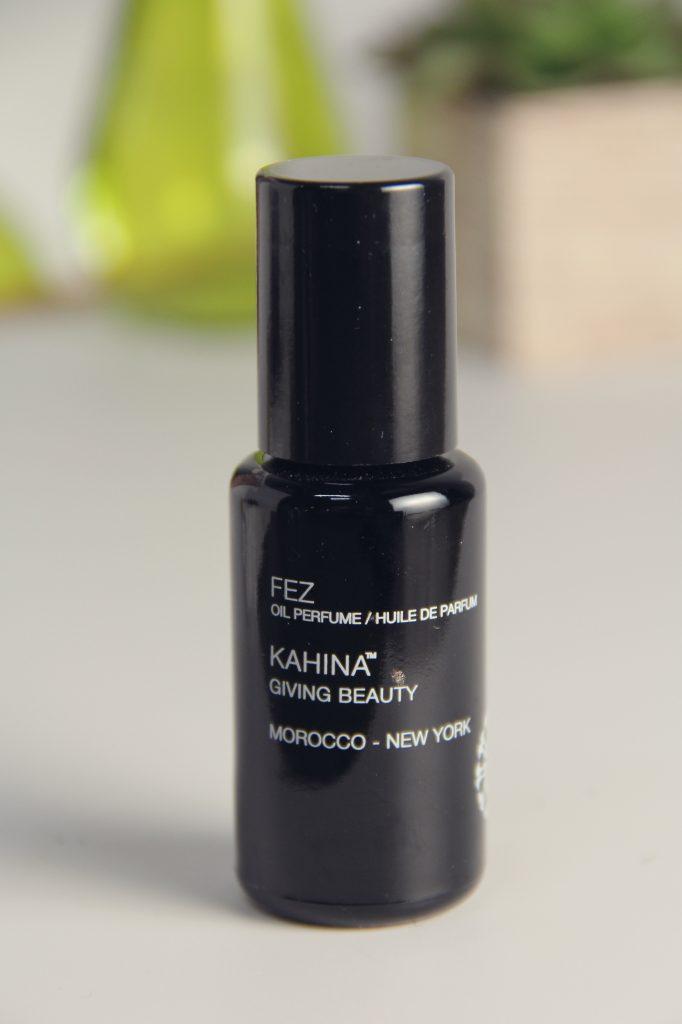 kahina giving beauty fez oil perfume