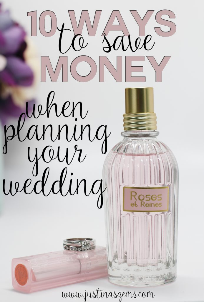 10 ways to save money when planning your wedding