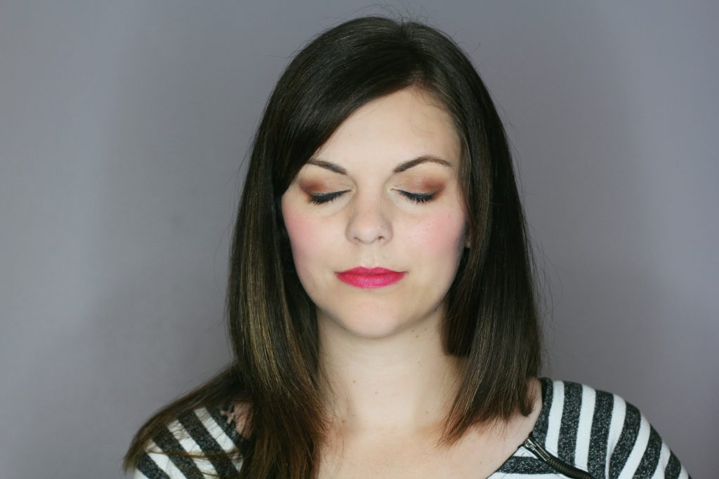 becca ombre rouge palette look