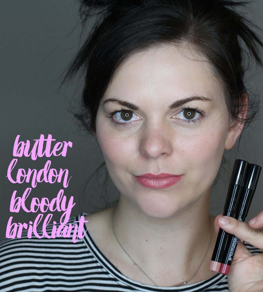 butter london bloody brilliant lip crayon
