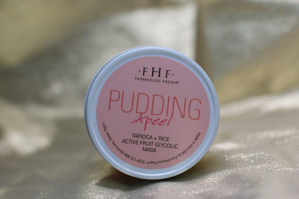 farmhouse fresh pudding peel natural glycolic mask