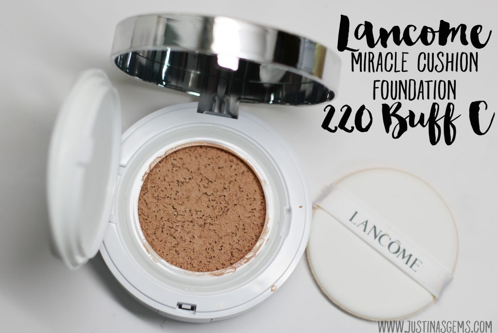 lancome miracle cushion foundation 220 buff c